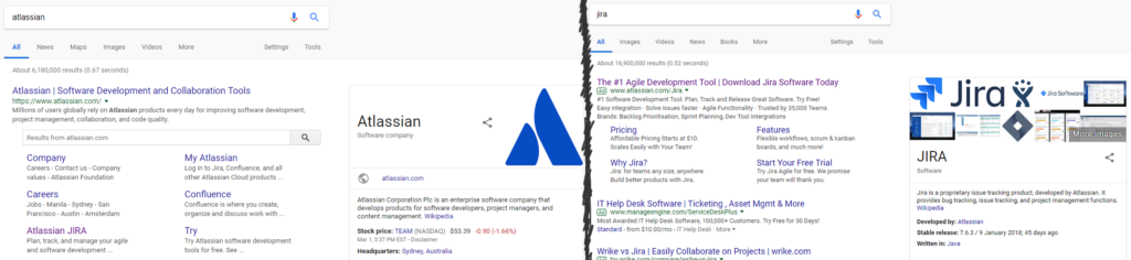 Attlassian Jira brand search