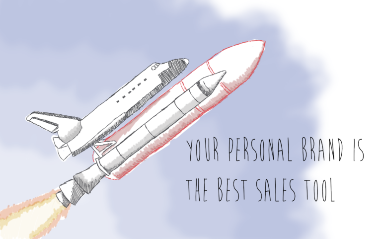 personal brand sales tool
