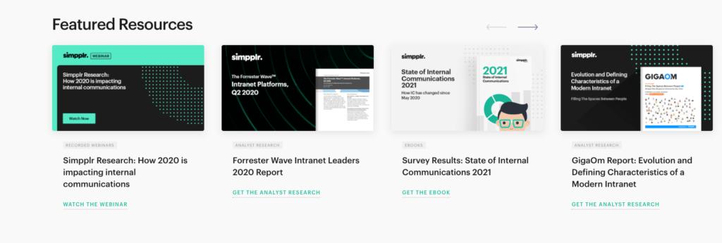 simpplr resources