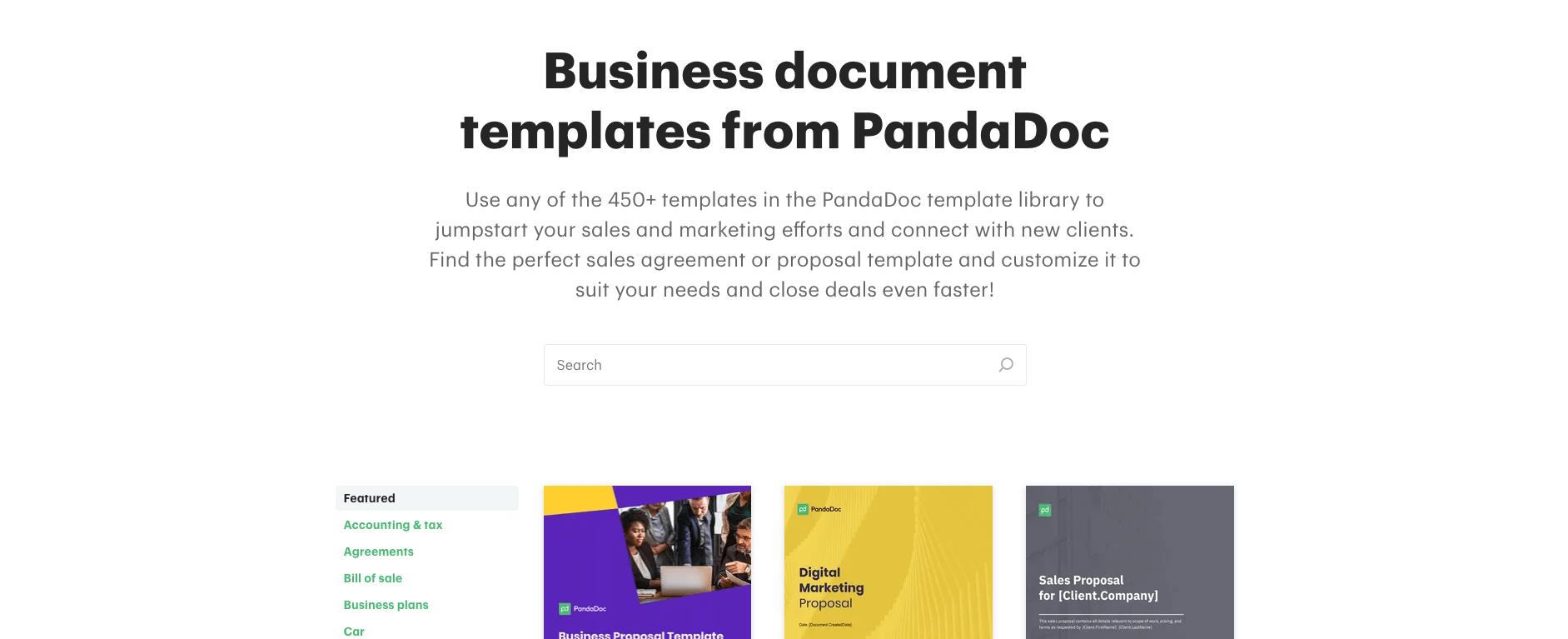 Pandadoc-template-search-screenshot